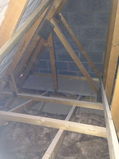 Roof inspection carried out as standard in snagging inspection Cheshire